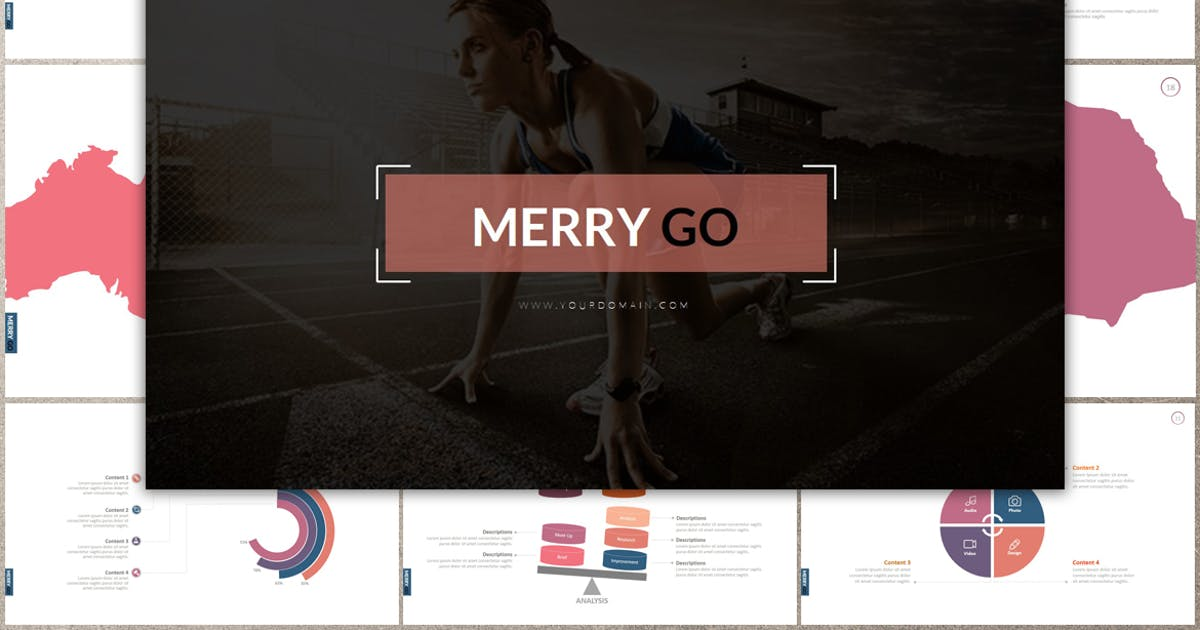Download MERRY GO Keynote by Artmonk