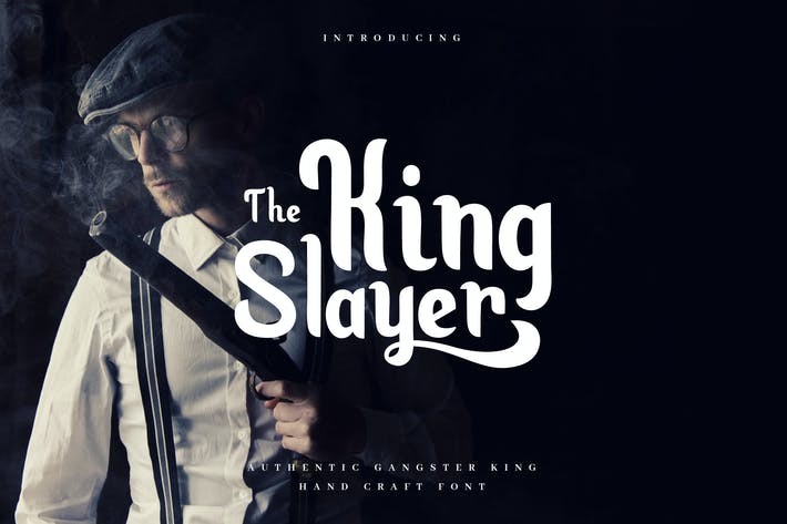 Thumbnail for King Slayer - Elegant Serif Font