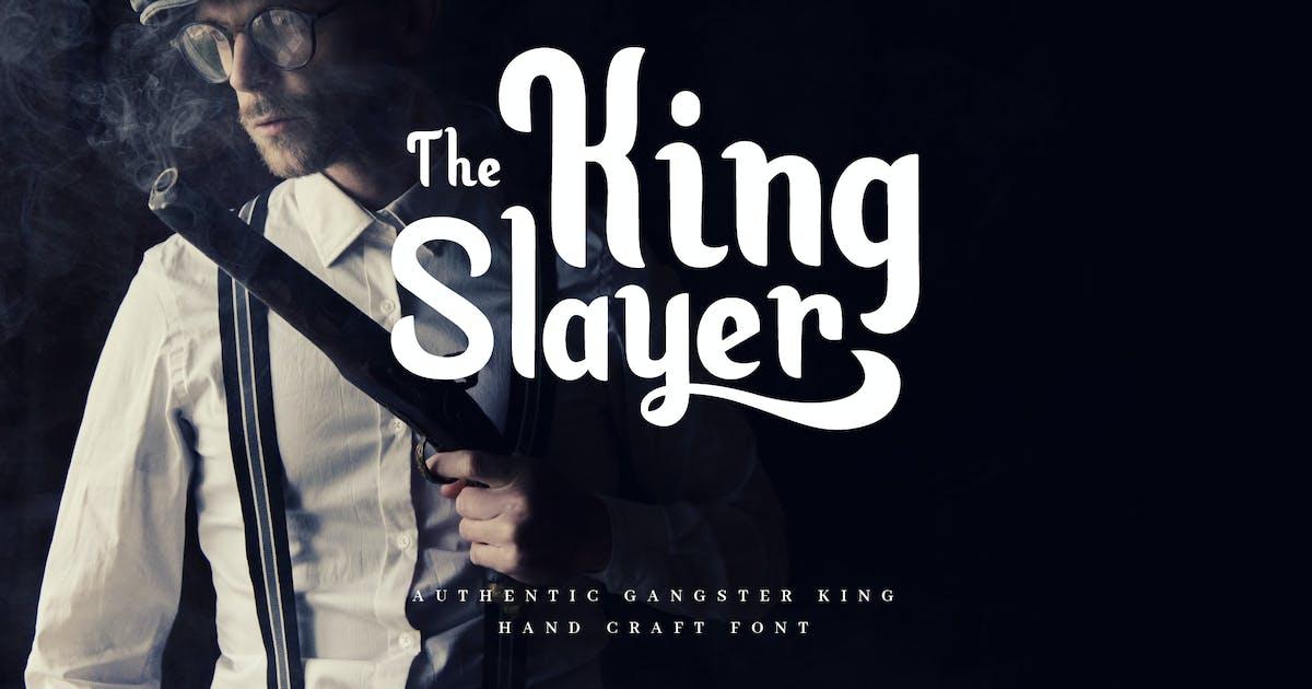 Download King Slayer - Elegant Serif Font by naulicrea