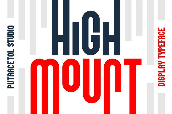 Thumbnail for High Mount - Heights Display Font