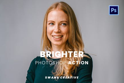 Brighter Photoshop Action