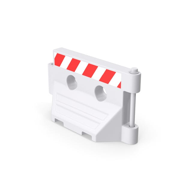 Kunststoff-Straßensperre