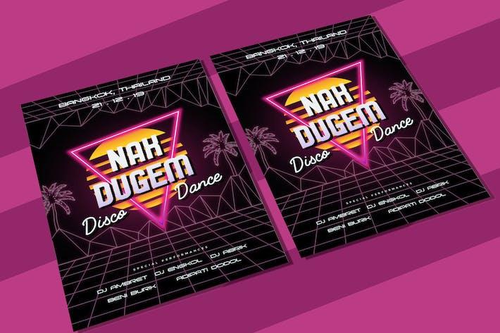 Thumbnail for EDM Poster 2 Flyer