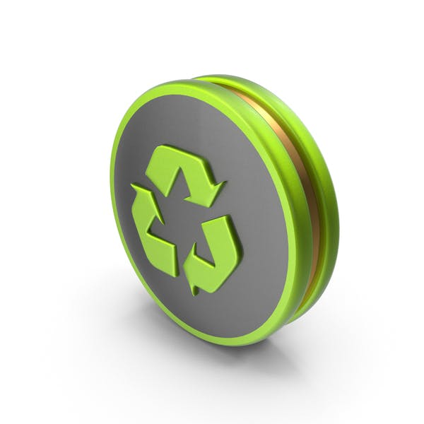 Green Recycling Icon