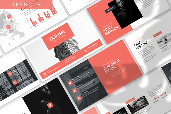 Domme - Architecture Keynote Template