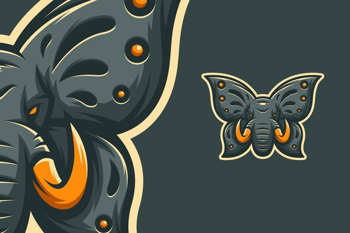 Thumbnail for ELBUT - ELEPHANT & BUTTERFLY