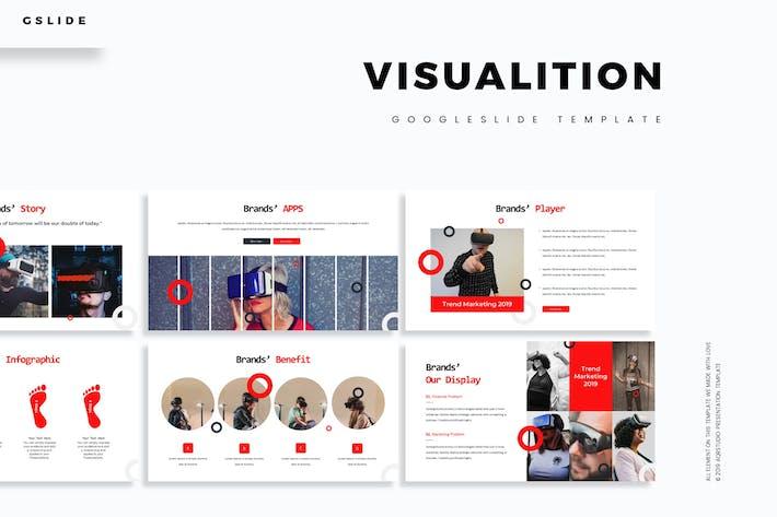 Thumbnail for Visualition - Google Slides Template