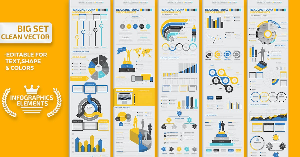 Download Infographics Elements by mamanamsai