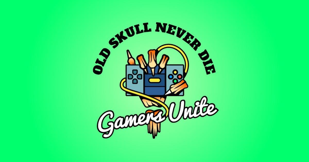 Download gamers skull - Mascot & Esport Logo by aqrstudio