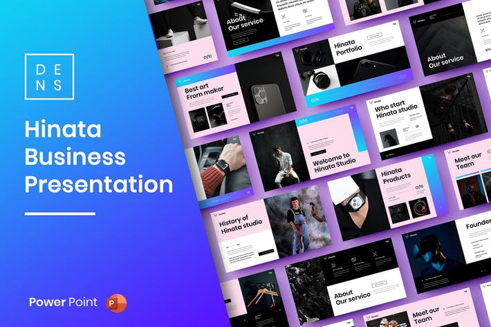 Hinata – Business PowerPoint Template