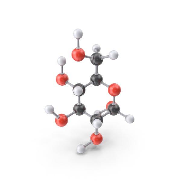 Glucose (Alpha D) Molecule