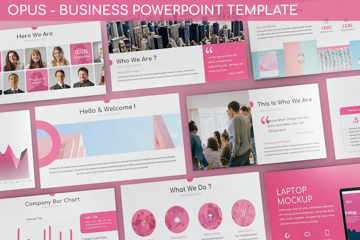 Thumbnail for Opus - Business Powerpoint Template