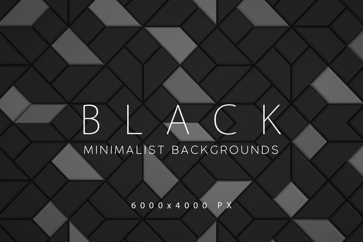 Thumbnail for Black Minimalist Backgrounds 2