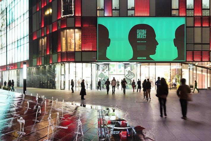Thumbnail for Urban Poster / Billboard Mock-up - Huge Edition #7