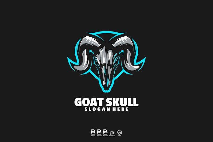 Thumbnail for Goat skull logo