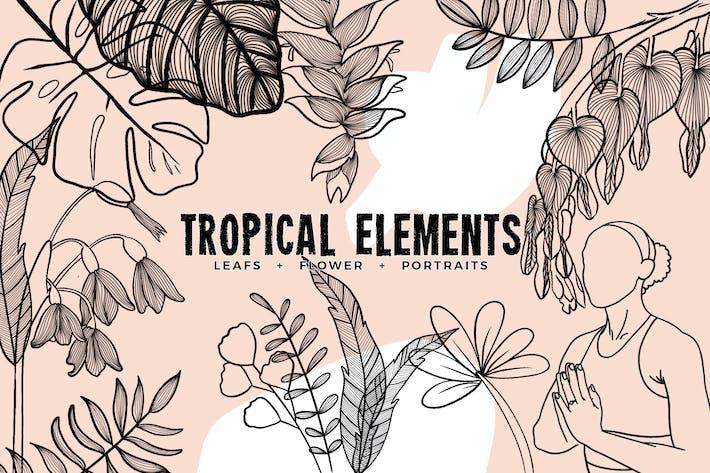 Thumbnail for Tropische Elemente