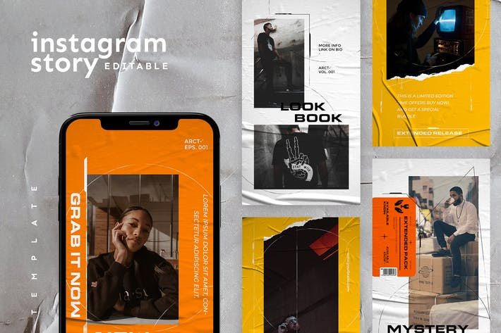 Cover Image For Instagram Story Template