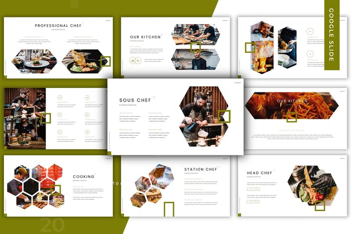 Thumbnail for Delicious - Google Slide Template