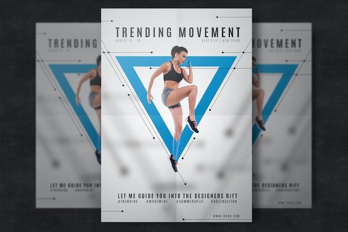 Thumbnail for Sport flyer tempalte
