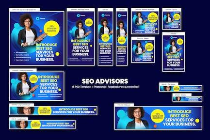 SEO Advisors Banners Ad