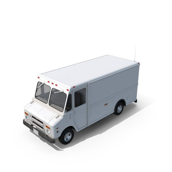 Cover Image for Post Office Truck