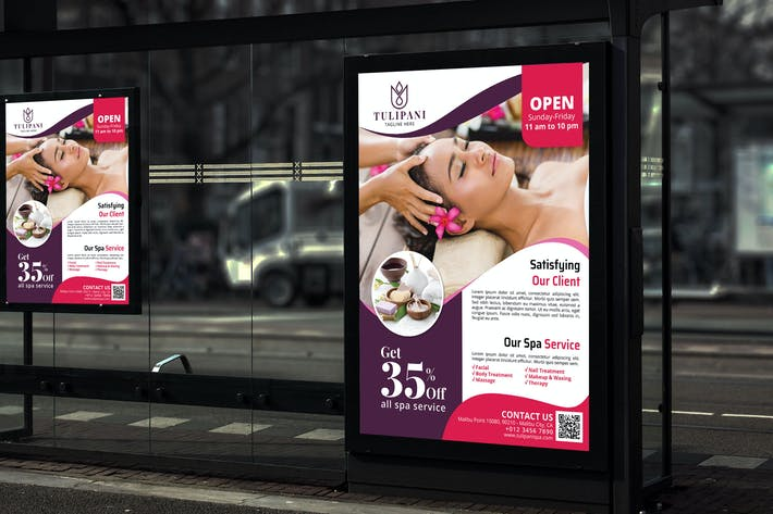 Thumbnail for Tulipani Spa - Promotion Poster RB