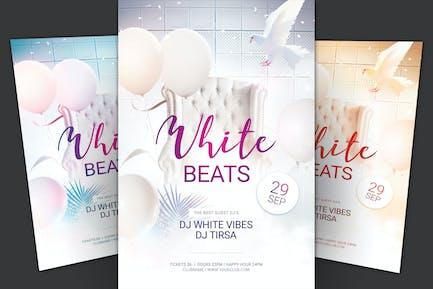 Weiß Beats Flyer