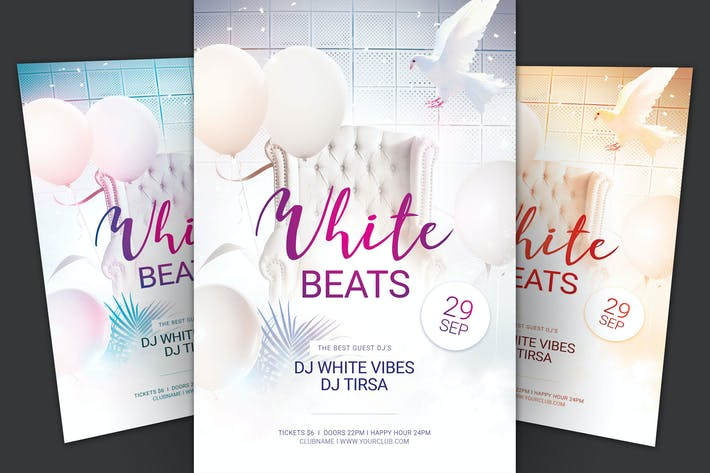 Thumbnail for White Beats Flyer