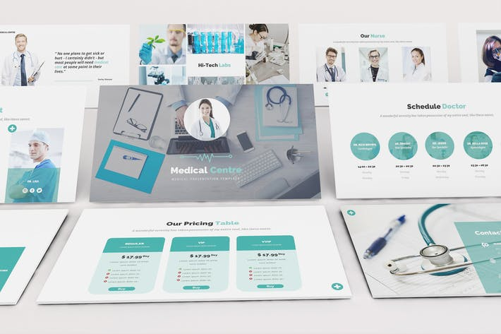 Medical Centre Google Slides Presentation Template