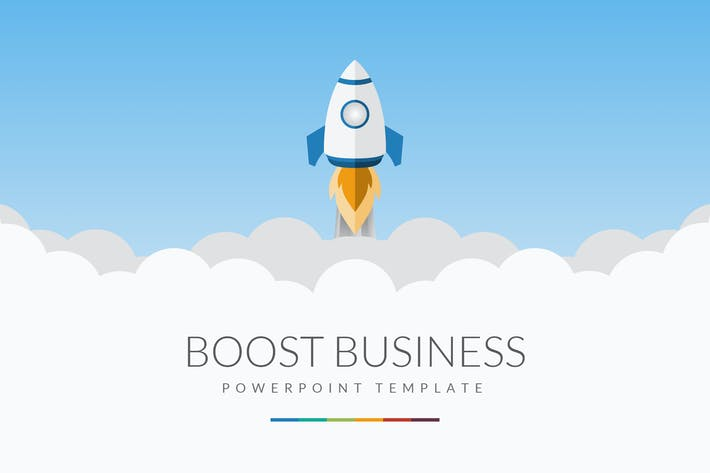 Thumbnail for Boost Business PowerPoint Template