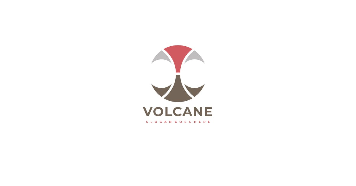 Download Volcano Logo Template by 3ab2ou