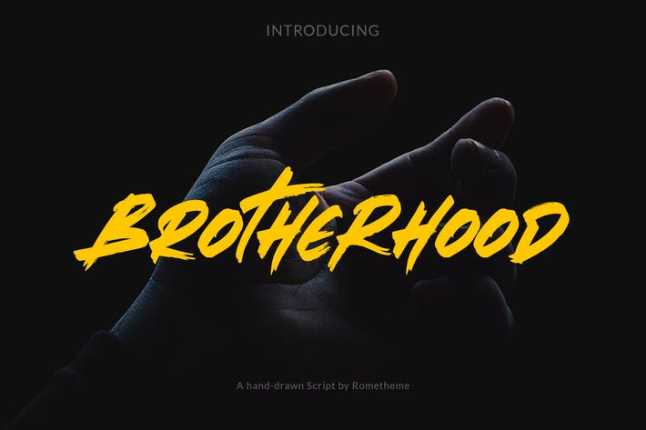 Thumbnail for Brotherhood - Brush Script Font