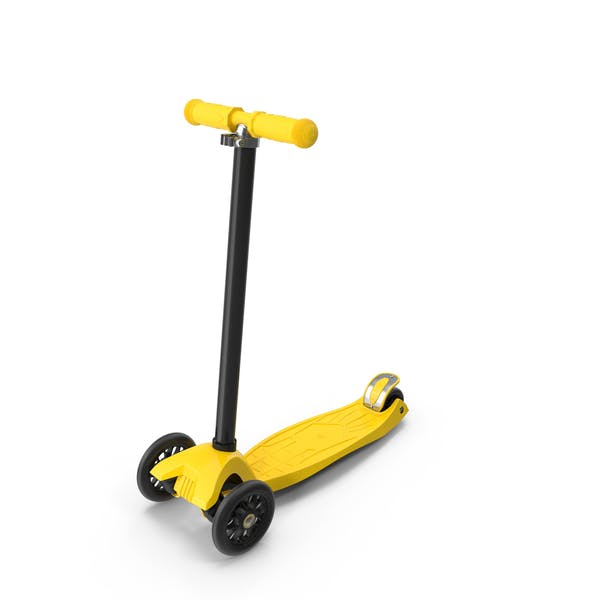 Thumbnail for Yellow Kids Scooter