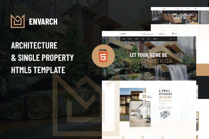 Thumbnail for EnVArch - Modèle d'architecture et de propriété HTML5