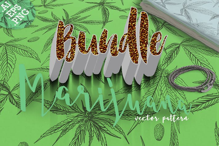 Thumbnail for SET/Marijuana vector pattern