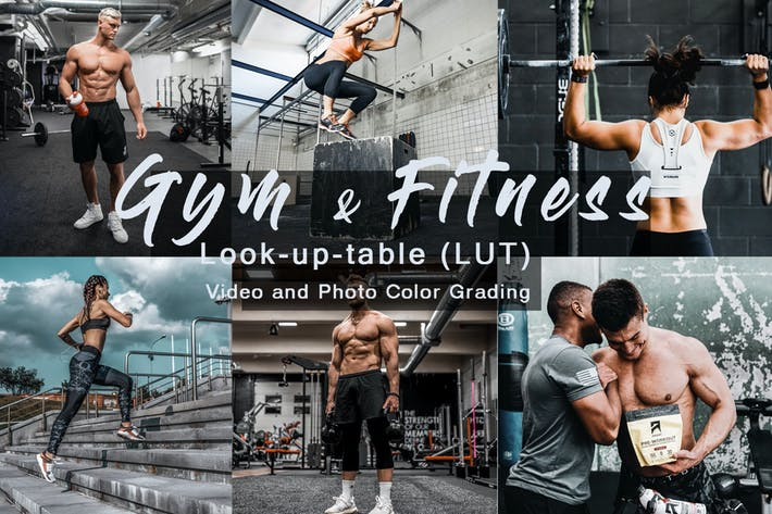 Thumbnail for Gym & Fitness -  Sport LUTs