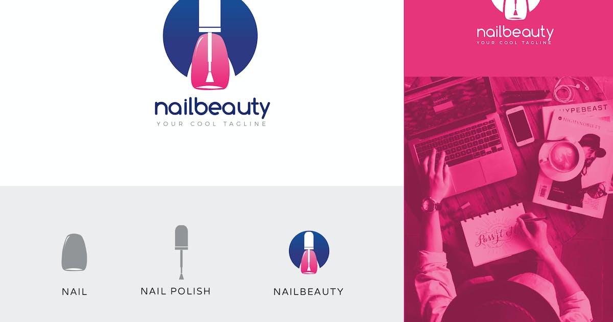 Download Nailbeauty Corporate Logo Vector Template by naulicrea