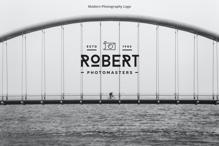 Cover Image For Modern Photography Logo