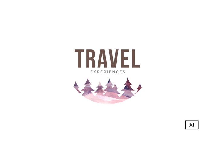 Thumbnail for Travel Experiences Logo Template
