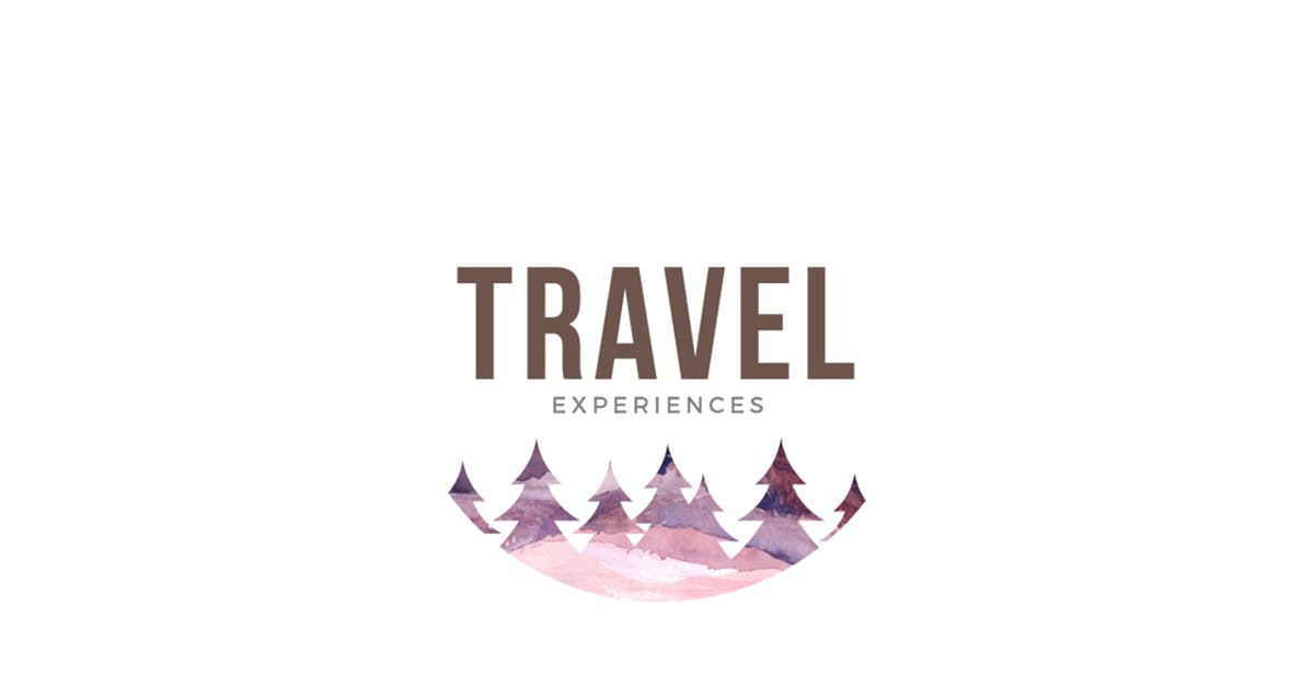 Download Travel Experiences Logo Template by 83Oranges