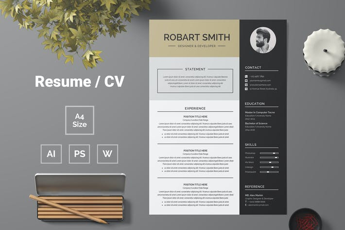 Thumbnail for Resume Template 70