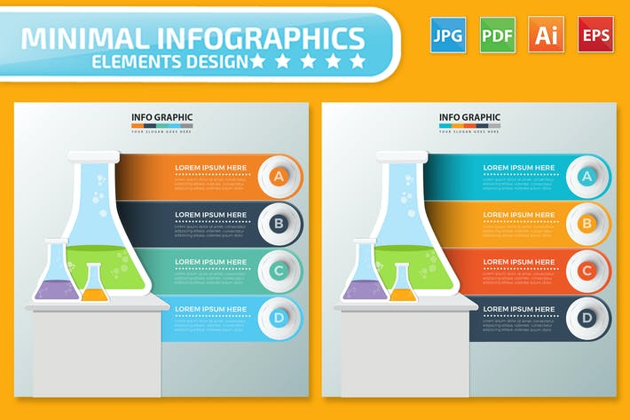 Thumbnail for Science Infographics design