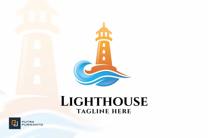 Cover Image For Lighthouse - Logo Template