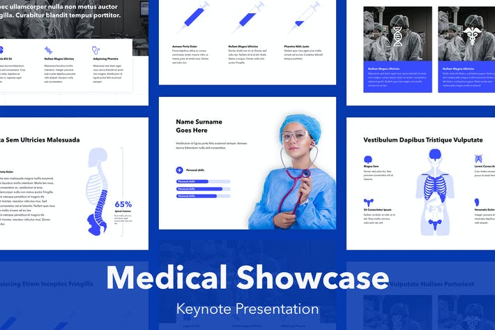 Thumbnail for Medical Showcase Keynote Template