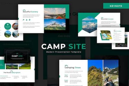 Camp Site - Keynote Template