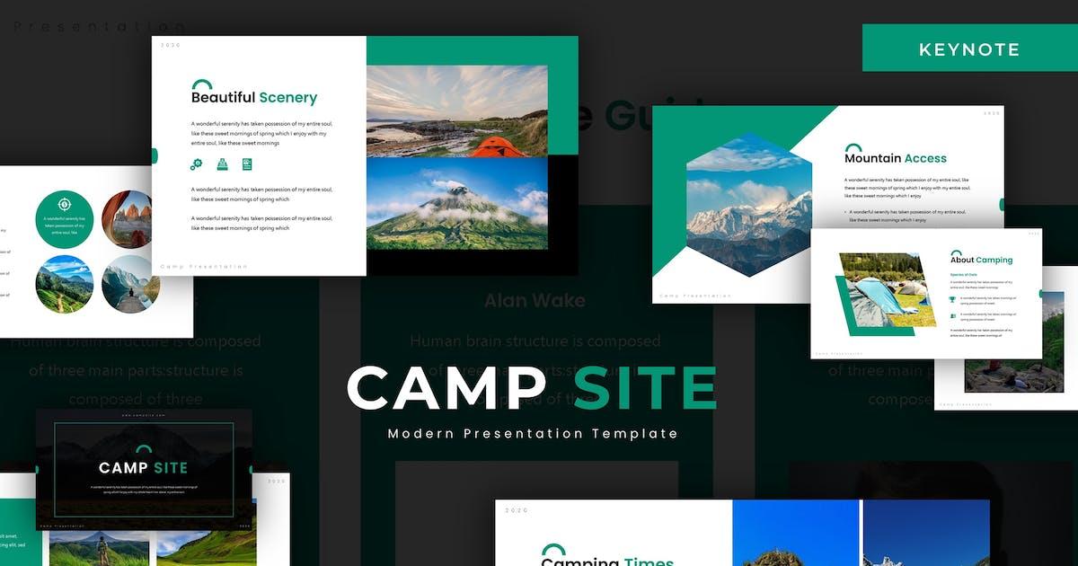 Download Camp Site - Keynote Template by karkunstudio