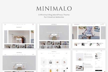 Minimalo - A Minimal Blog WordPress Theme