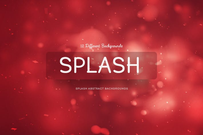 Thumbnail for Splash Abstract Backgrounds