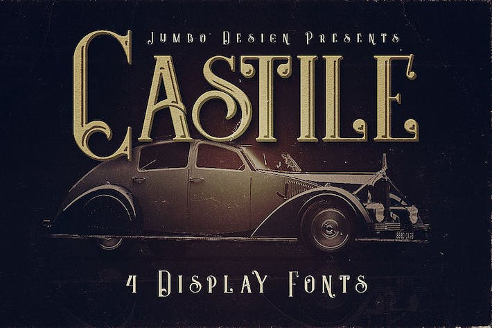 Thumbnail for Castile - Display Font