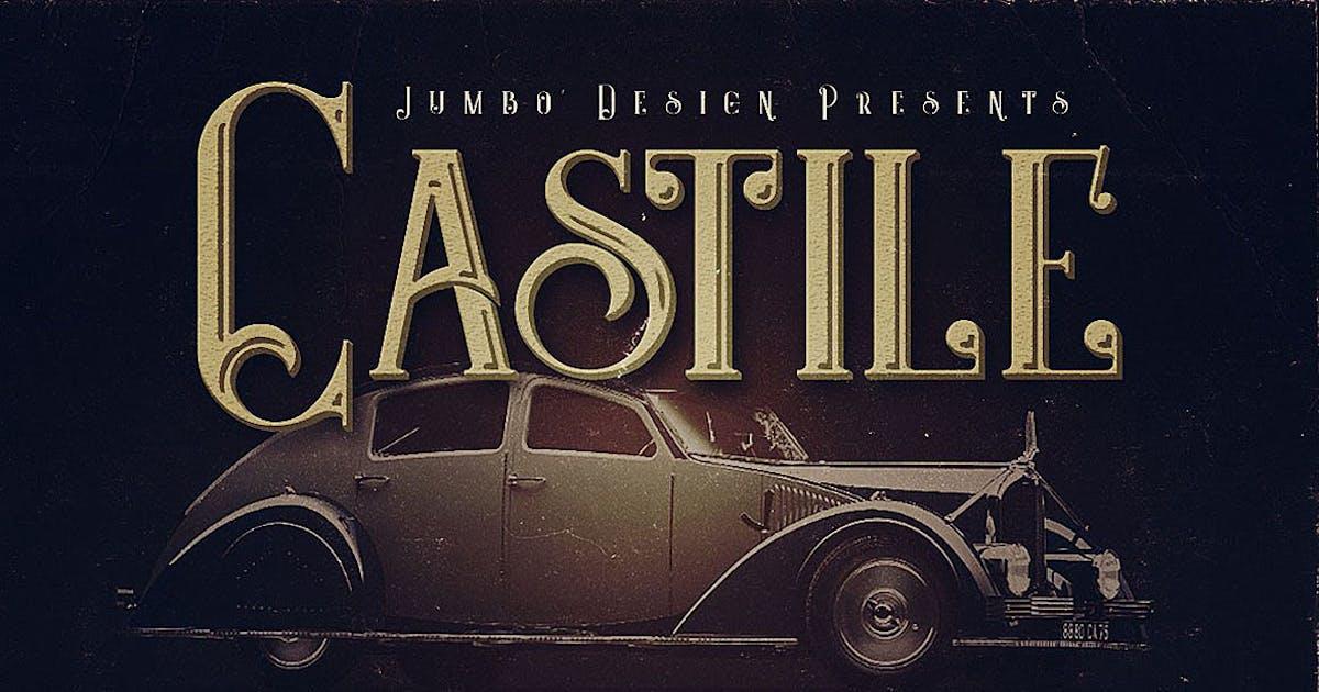 Download Castile - Display Font by cruzine